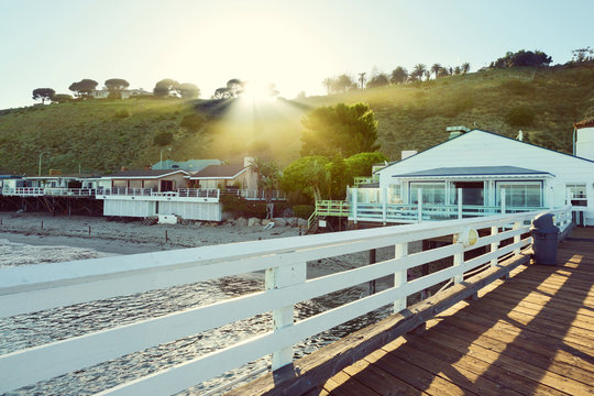 Malibu Pier, Malibu, California, USA