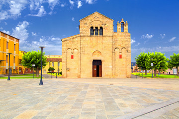 Church of San Simplicio in Olbia, Sardinia, Italy