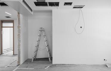 Renovieren Baustelle Wohnung