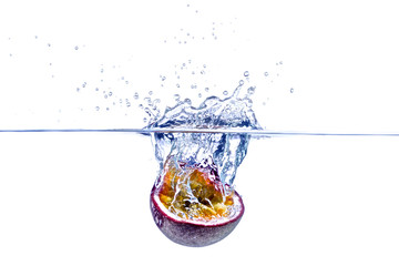 Maracuja, Passionsfrucht Splash