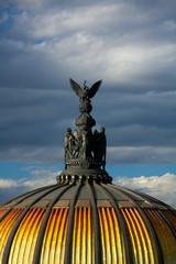 Museum of fine arts in Mexico city Palacio Del Belles Artes stat