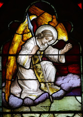 Fototapete - Angel (stained glass)