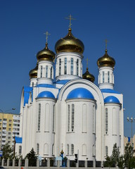 Успенский кафедральный собор в Астане