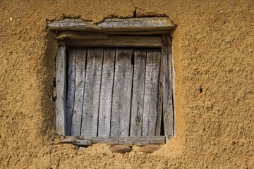 Window in Adobe House