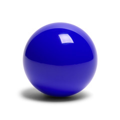 Blue Billard Ball