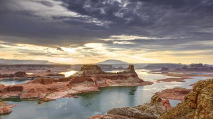 Fototapete - Lake Powell Sunrise