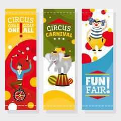 Funfair banners
