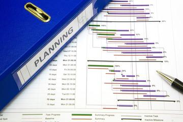 Project management - Project planning concept