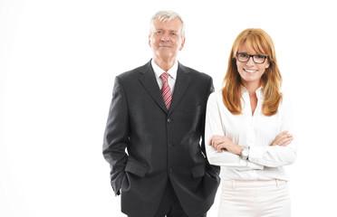 Sales team portrait