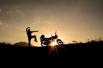 çılgın motorsikletçi