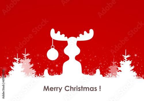 elch schnee weihnachten stockfotos und lizenzfreie. Black Bedroom Furniture Sets. Home Design Ideas