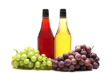 aceto di vino bianco e rosso