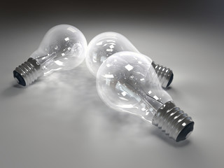 3d Lightbulb 2