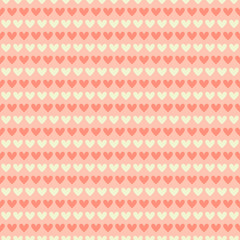 Romantic seamless pattern (tiling).
