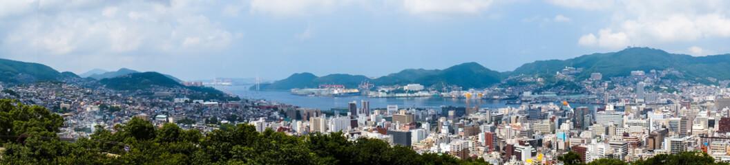 Nagasaki Bay (長崎湾) in Nagasaki, Japan