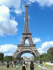 Poster Eiffeltoren La mundialmente famosa