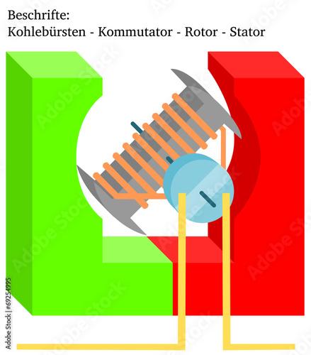 Arbeitsblatt: Elektromotor\