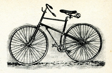 Bicycle ca. 1890