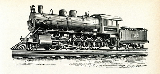 American locomotive 1890