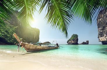 Fotomurales - boat at Phi Phi island, Thailand