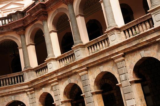 Ecuador, Detail of colonial architecture