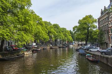Amsterdam, Netherlands. Typical urban view