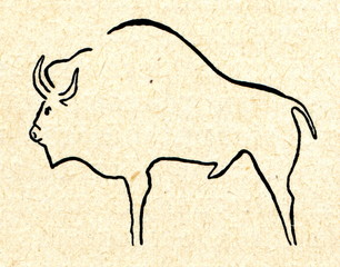 Buffalo (cave painting)