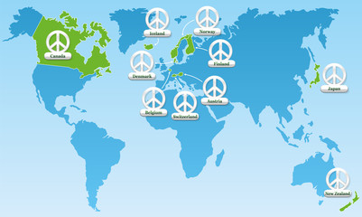 Global Peace Index Symbols