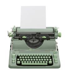 Retro Green Typewriter