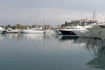 Yachts at French Riviera