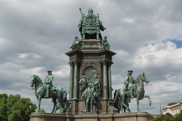 Maria Theresa monument, Vienna Austria