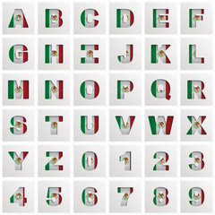 mexico alphabet