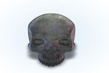 Damaged Metal Skull Series II