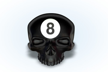8 Ball Skull Series II