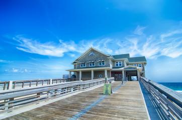 Jennette's Pier in Nags Head, North Carolina, USA.