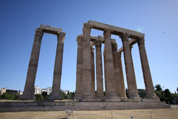 The Temple of Poseidon at Sounion Greece