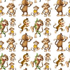 Seamless monkey