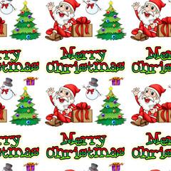 Seamless christmas