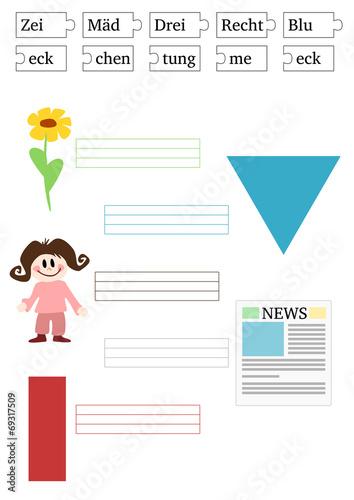 Arbeitsblatt: Zuordnung Wort - Symbol\