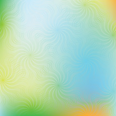 Abstract swirl vector colorful background.