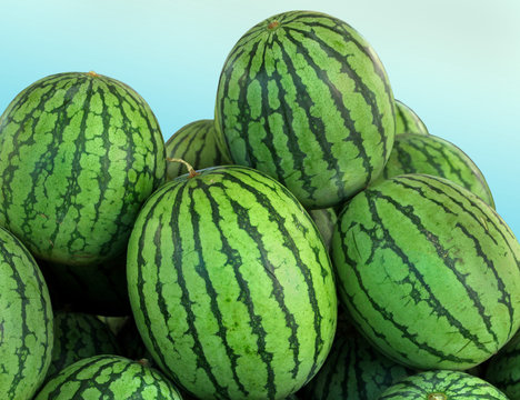 Watermelons pile