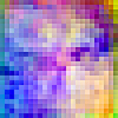 Colorful pixel background