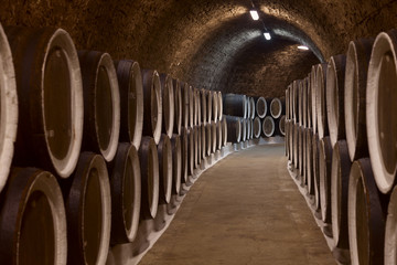 Wall Mural - Wine cellar