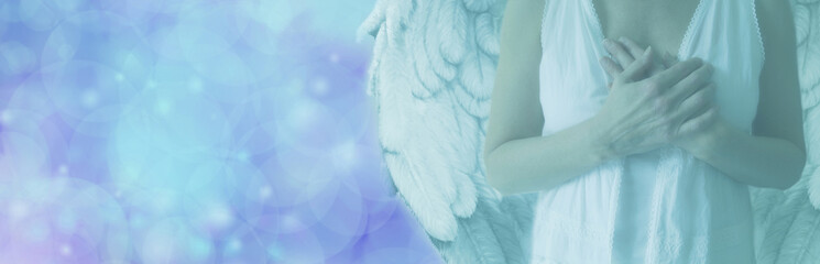 Soft Blue Angelic Vision
