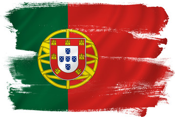 Portugal flag Fototapete