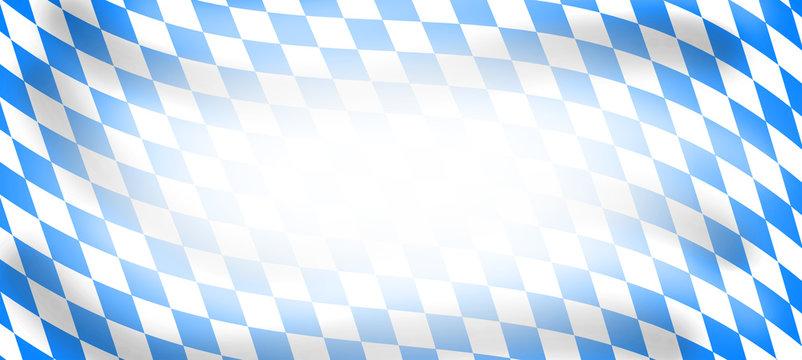 Bavarian Wavy Flag White