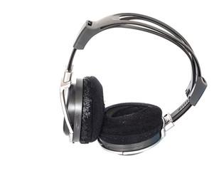 Old  big earphone