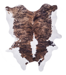Cow hide isolated