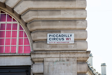 Sign Piccadilly Circus