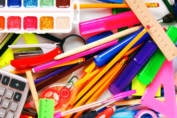 Stationery and school accessories.